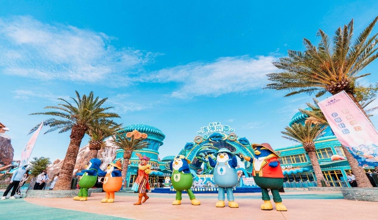 海洋乐园萌鹅天团