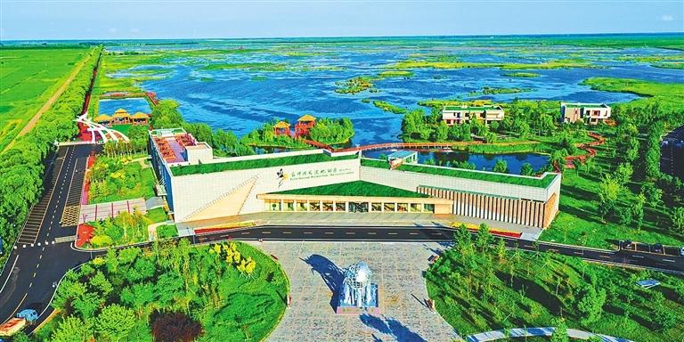 富锦国家湿地公园。