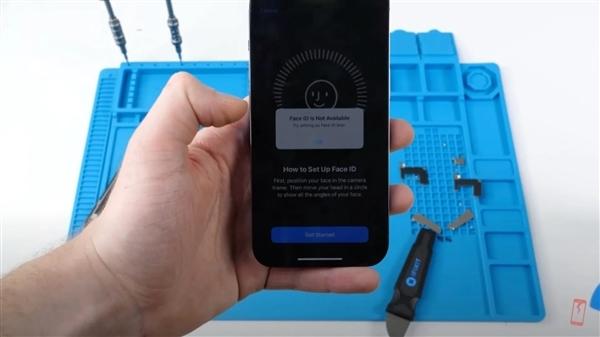 苹果对iPhone 13施加限制:非授权换屏面容ID将失灵