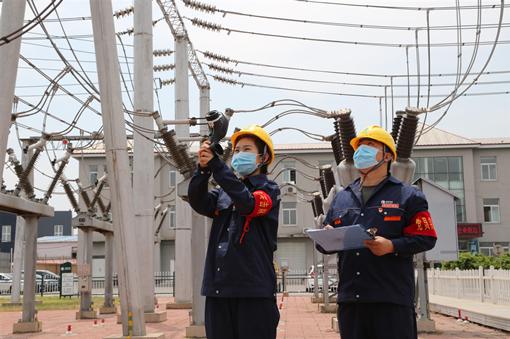 践行人民电业为人民企业宗旨</p><p>  全力保安全保民生保重点供电