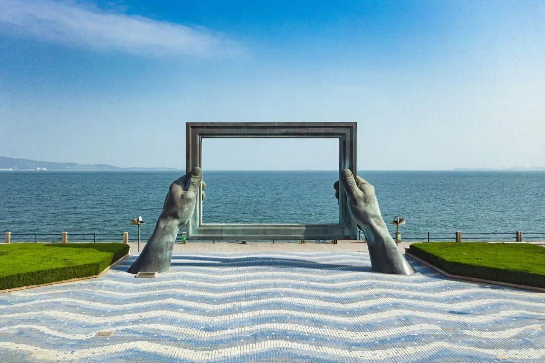 从威海看世界。/视觉中国