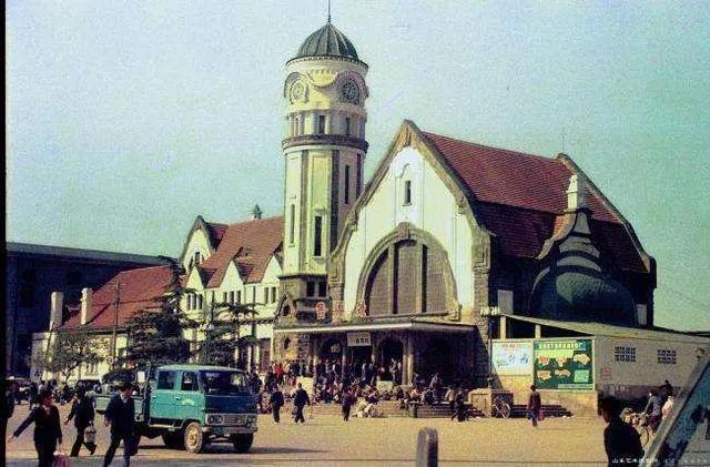 已拆除的津浦铁路济南站