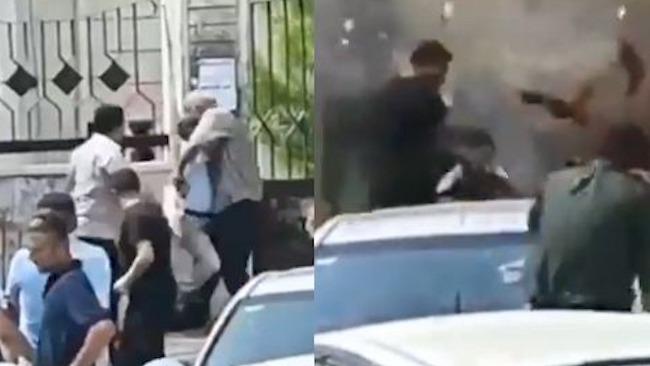 悲剧瞬间曝光!叙利亚两男子吵架引爆手榴弹致3死11伤