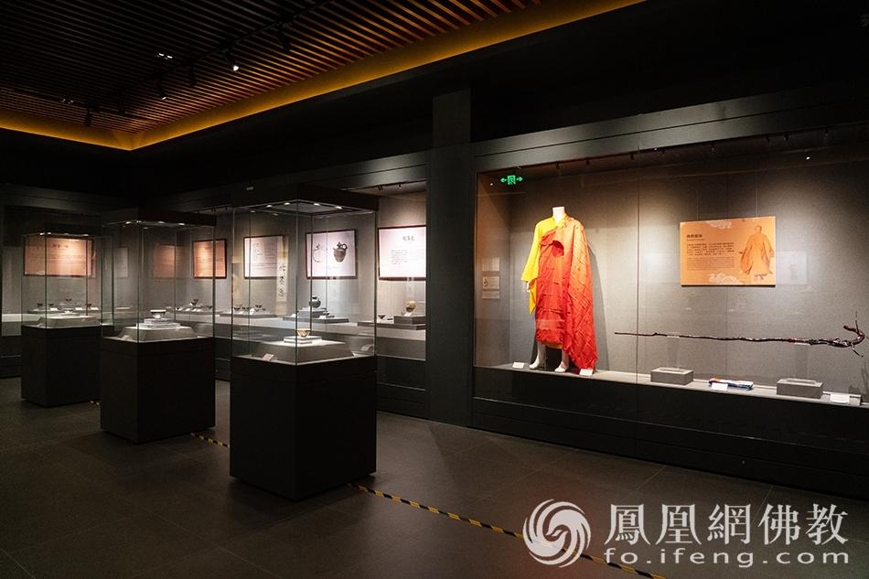 佛教艺术珍品展·妙宝庄严(图片来源:凤凰网佛教 摄影:珠海普陀寺)