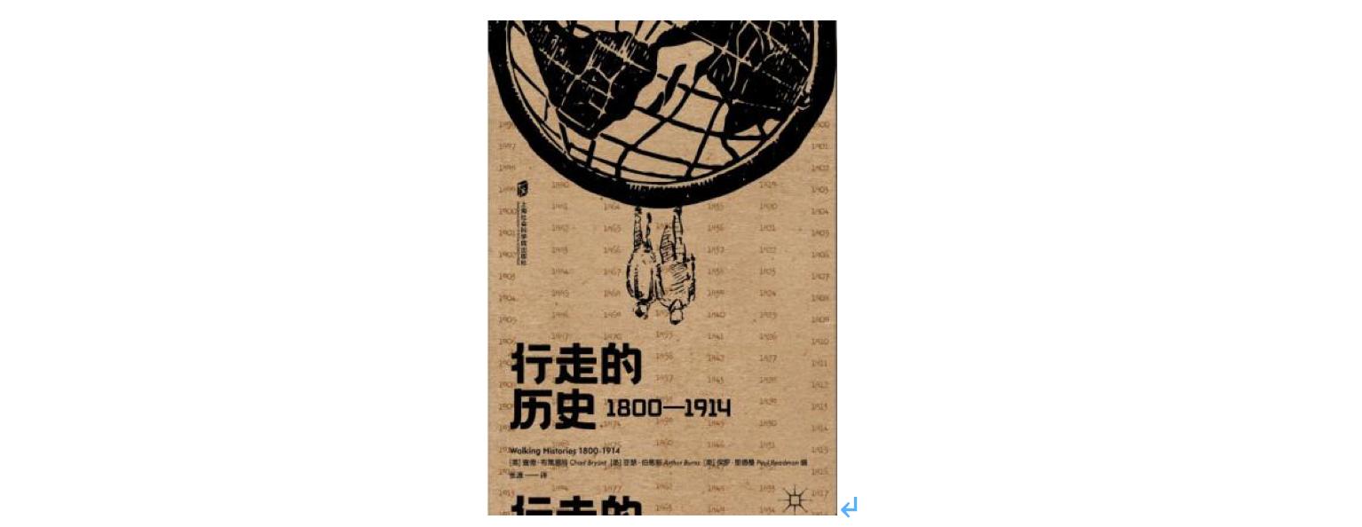《行走的历史》,作者: [美] 查德·布莱恩特 / [英]亚瑟·伯恩斯 / [英]保罗·雷德曼,版本: 上海社会科学院出版社 2020-5