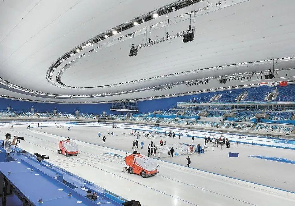 北京冬奥会首创的二氧化碳跨临界直冷制冰系统,这次已经是第三次正式制冰。