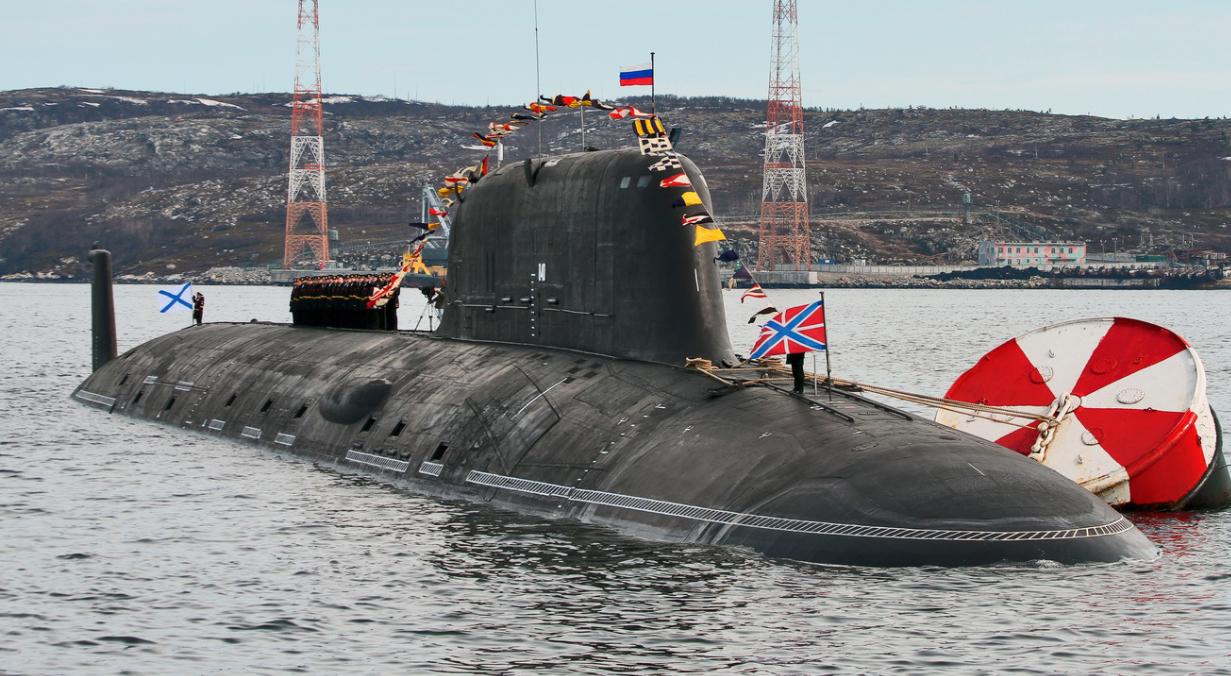 """目前世界上能与""""海狼""""比肩的仅有俄罗斯""""亚森""""级核潜艇"""