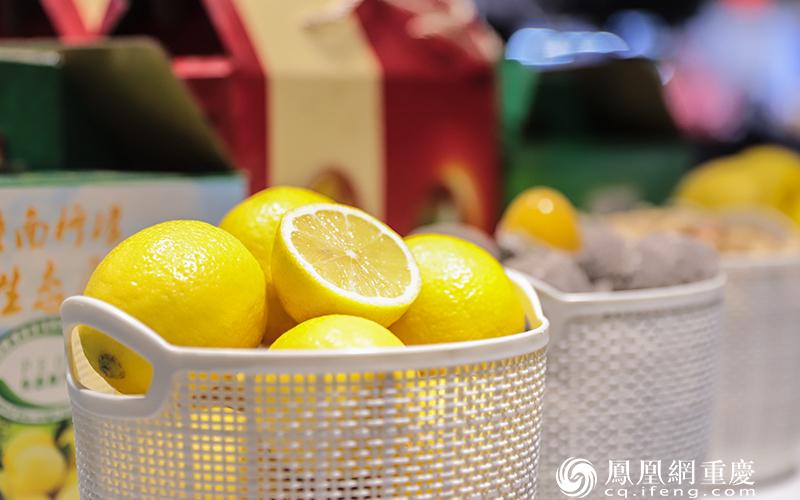 潼南特色农产品——柠檬
