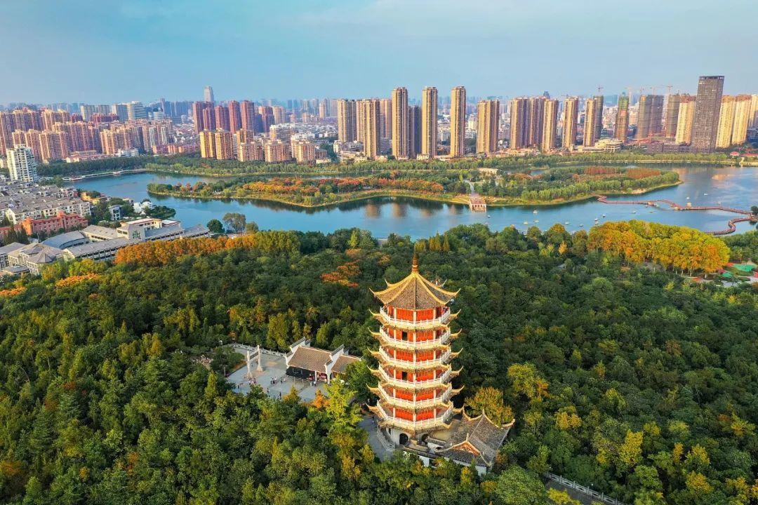 安徽省蚌埠市。/视觉中国