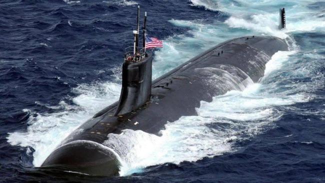美国一核动力潜艇在南海国际水域撞上不明物体 十余人受伤