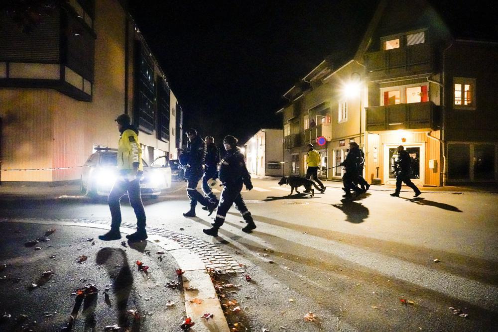 挪威弓箭袭击事件嫌犯被捕:系37岁丹麦公民 作案动机不明
