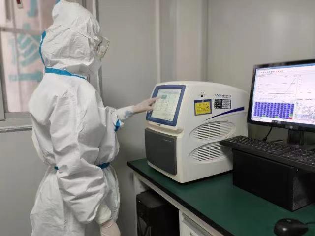 江西省胸科医院:核酸检测报告是这样出炉的