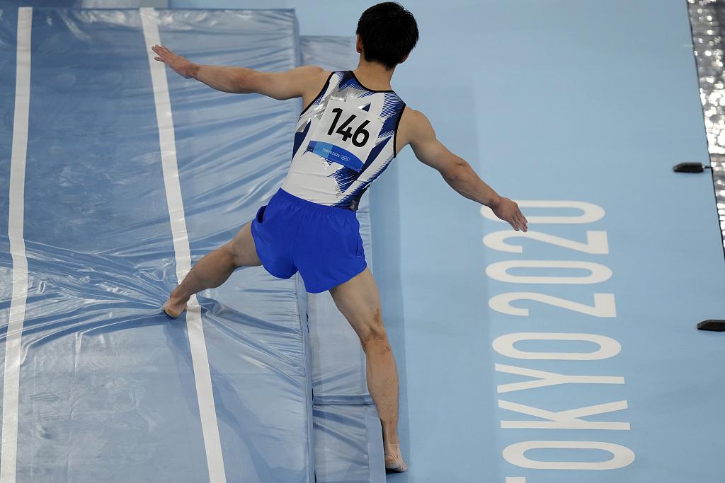 东京奥运会日本选手桥本大辉夺冠引争议