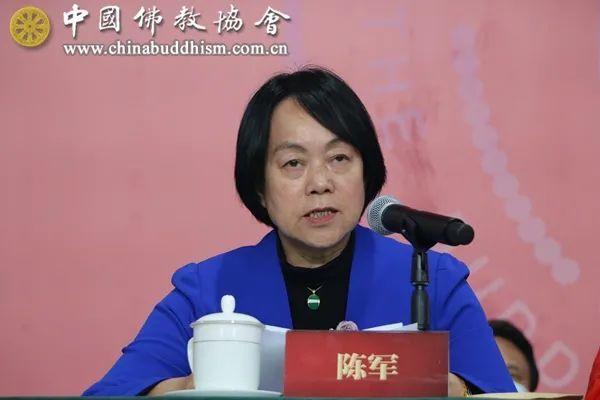 北京市政协副主席陈军致辞