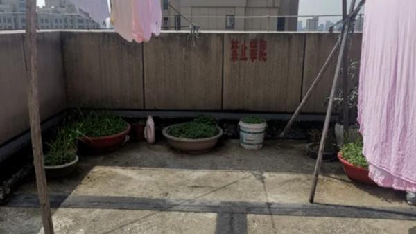 女子楼顶扔下两花盆险砸中小女孩 称花盆影响晾晒