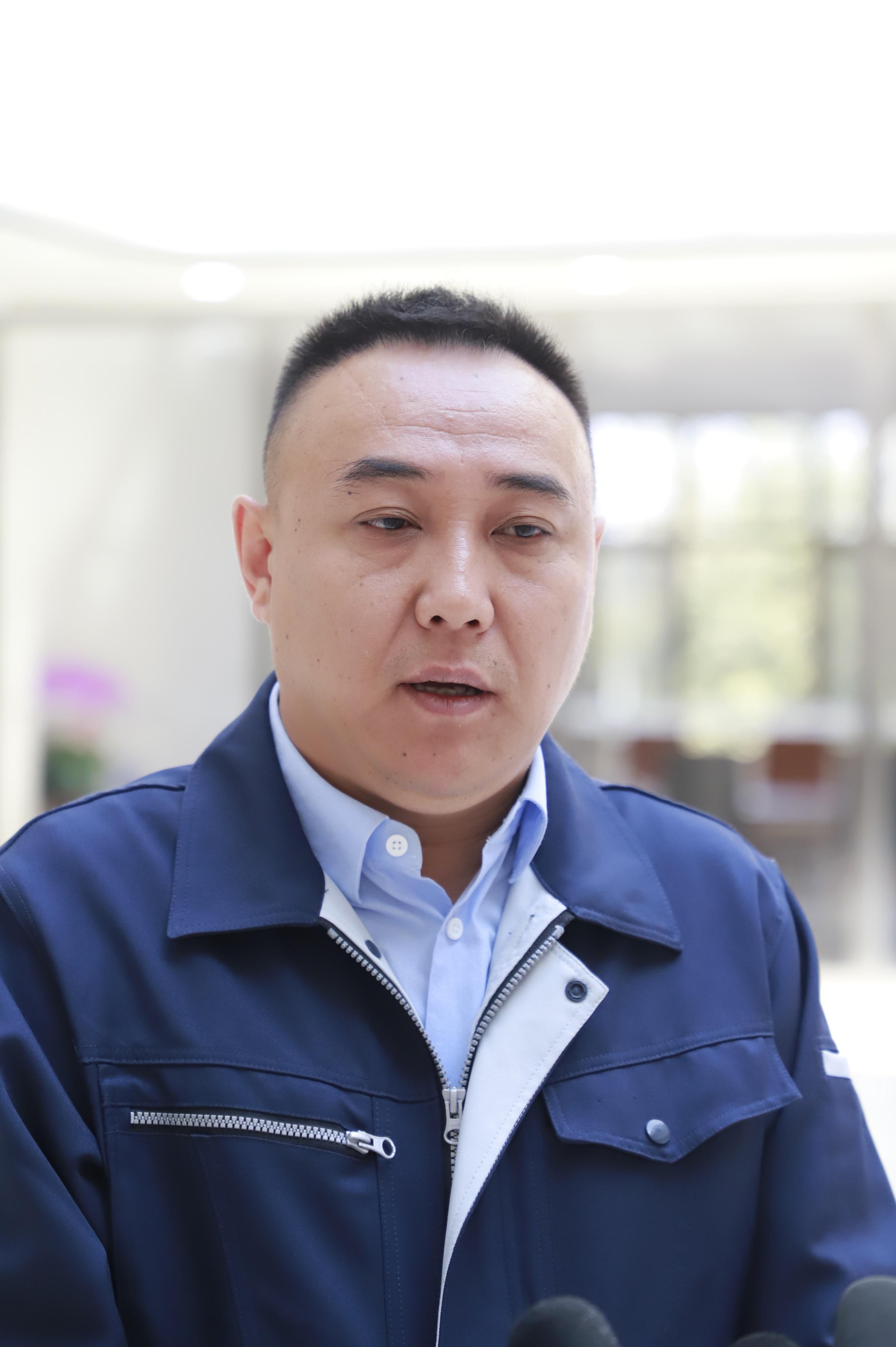 三河同飞制冷股份有限公司总经理张浩雷