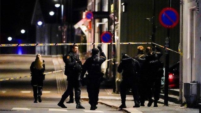 挪威弓箭袭击事件已致5死2伤 警方:不排除恐怖袭击可能