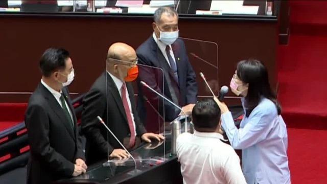 """苏贞昌气急大骂""""不要脸"""" 国民党:公开道歉 否则上法庭"""
