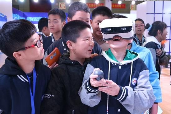 体验VR眼镜
