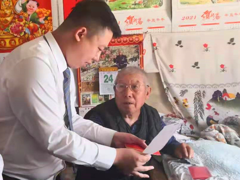 青岛农商银行倾情为老年客户办实事