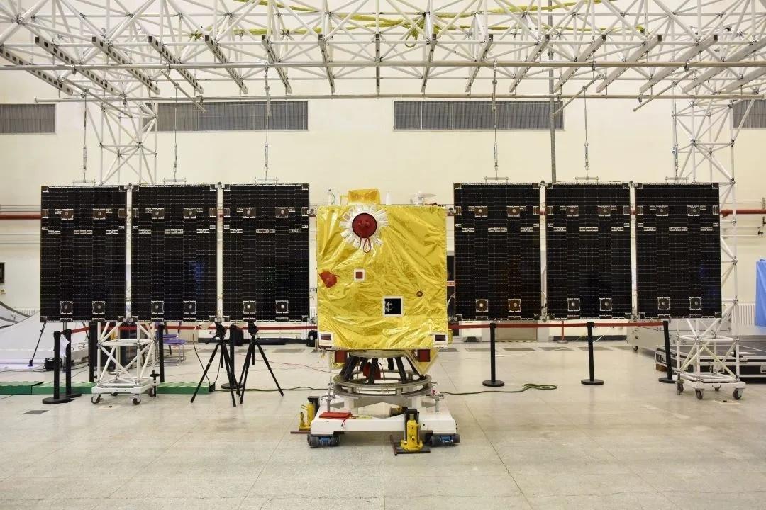 太阳探测科学技术试验卫星 图源航天科技八院
