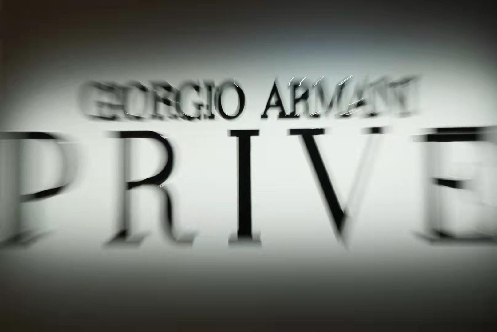 Giorgio Armani Privé高级定制2021秋冬系列时装秀