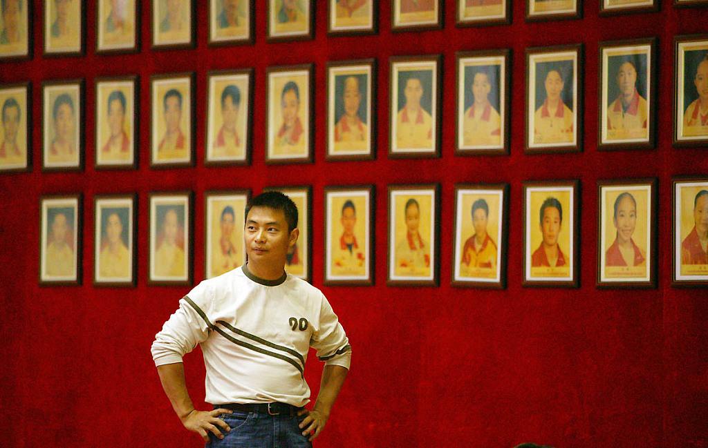 2006年7月25日,李小双现身国家队训练馆看望恩师