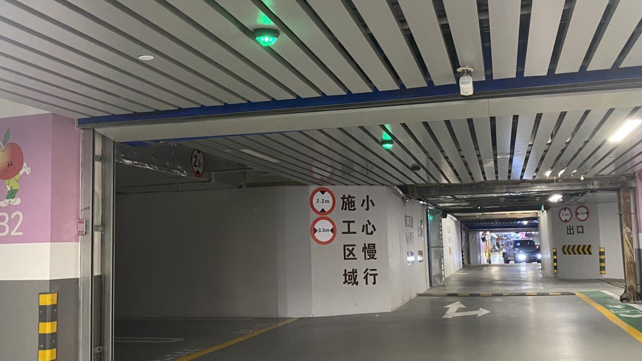 地下车库施工标识