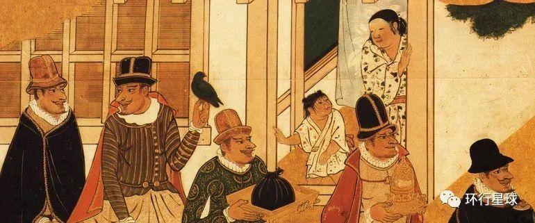反映兰学思潮的日本绘画。 图:nipponica
