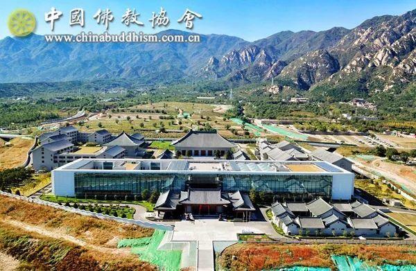 中国佛学院新校区全景鸟瞰