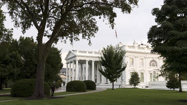美国白宫(新华社图)