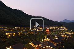 江西铅山:网红景区 璀璨夜景