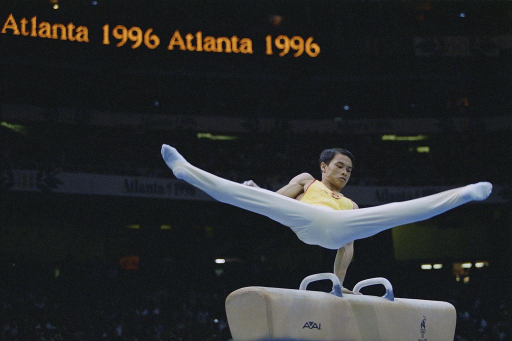 1996亚特兰大奥运会:体操男子全能 李小双金牌