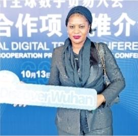 冈比亚共和国驻华大使馆副馆长周蓓。