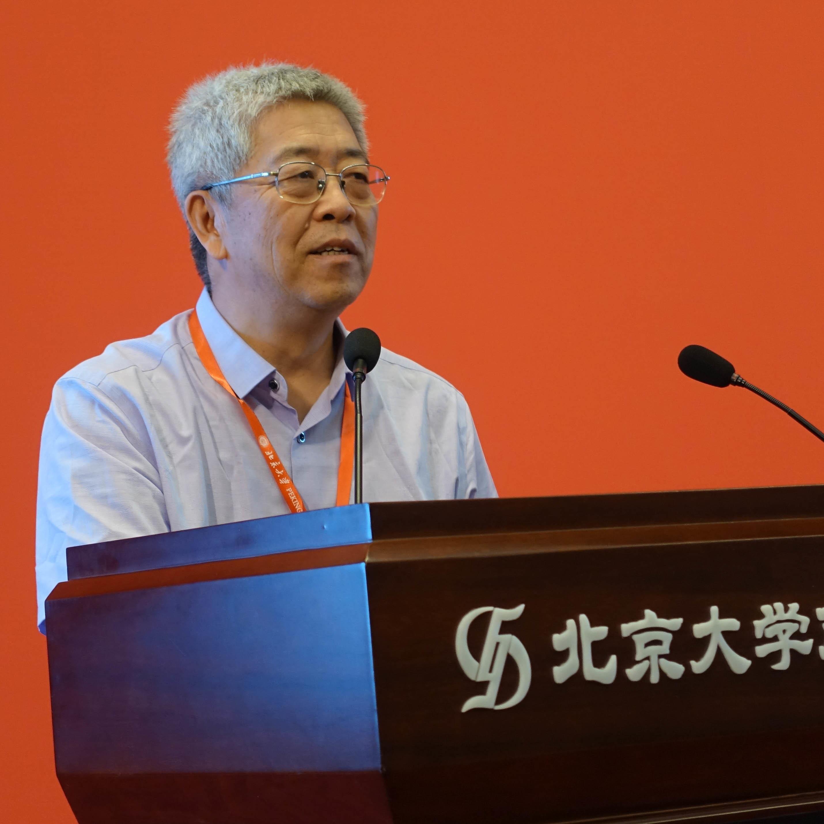 北京大学人口所教授乔晓春。受访者供图