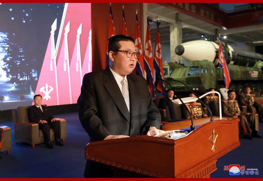 朝中社: 金正恩称朝鲜的主要敌人是战争本身