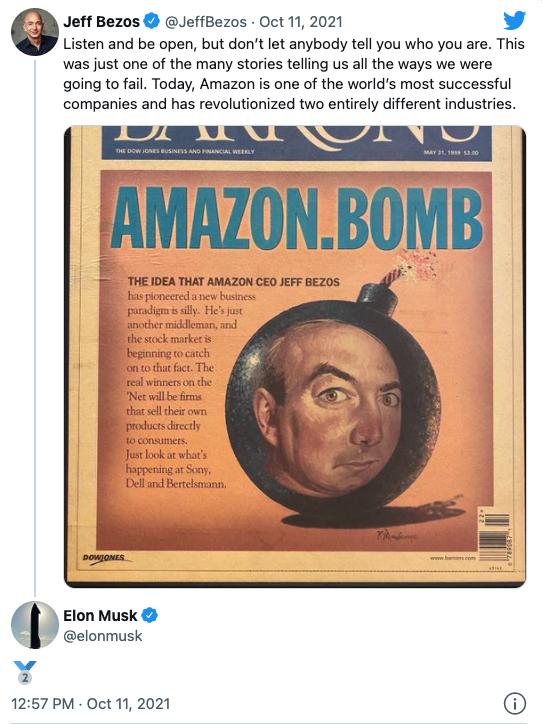 富豪互撕背后的太空竞赛:马斯克欲称霸深空探索 贝佐斯不甘出局