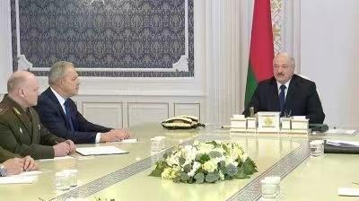 △白俄罗斯总统卢卡申科 图片来源:白通社