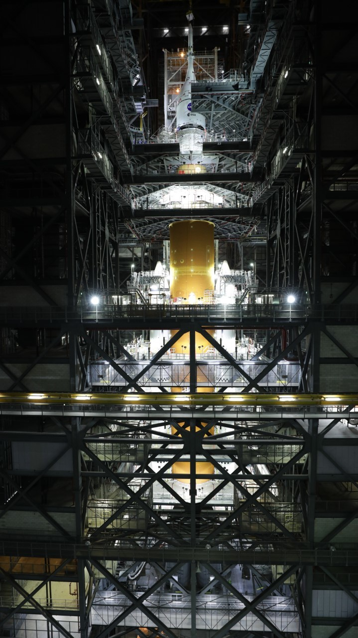 """美国重返月球的关键 NASA明年2月首次试射""""太空"""