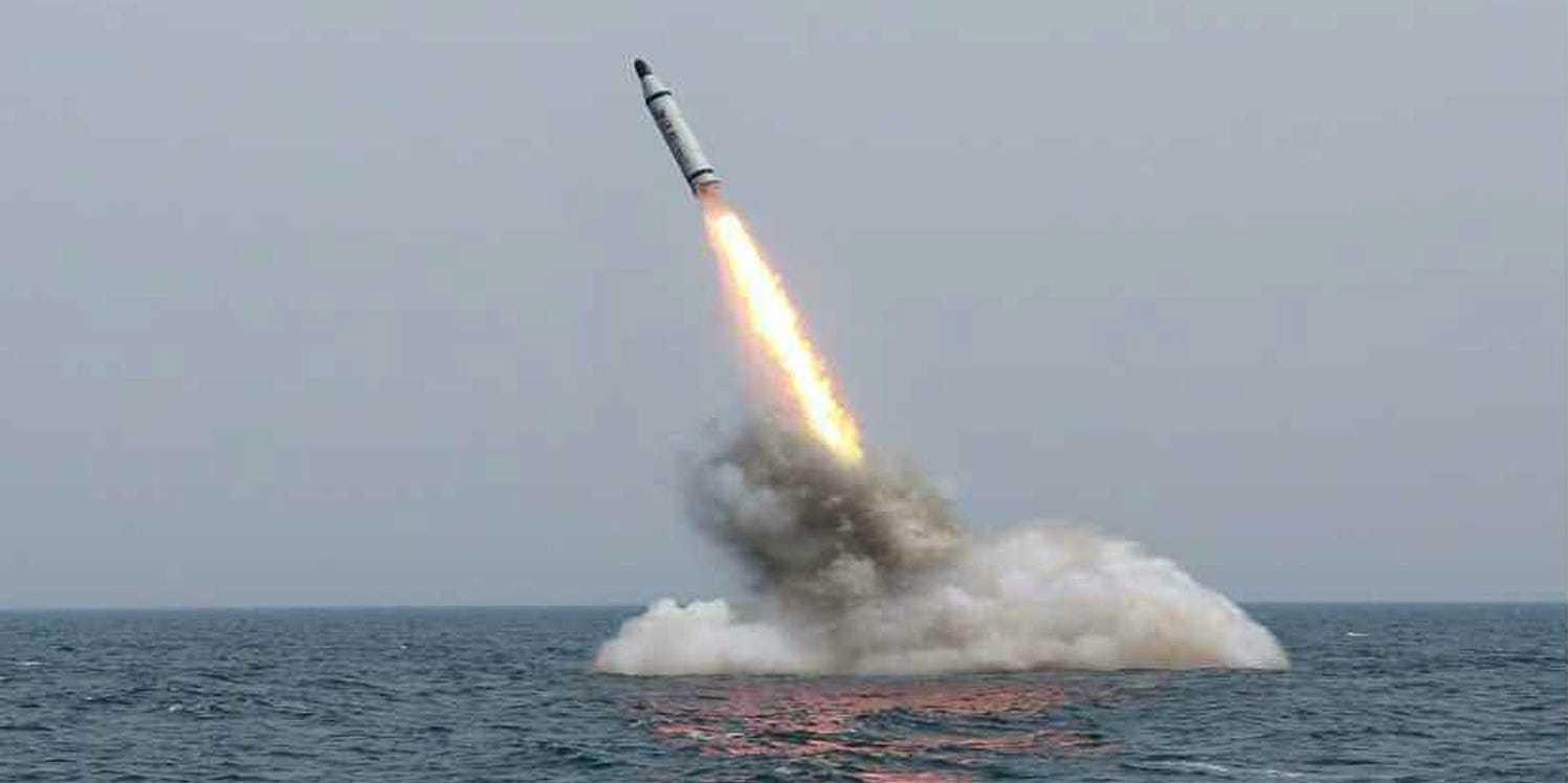 朝鲜疑似发射潜射导弹 韩国呼吁朝方展现对话姿态