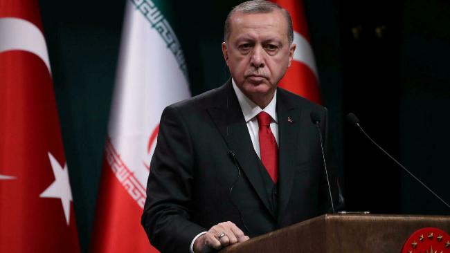 土耳其总统宣布美国等10国驻土大使为不受欢迎的人