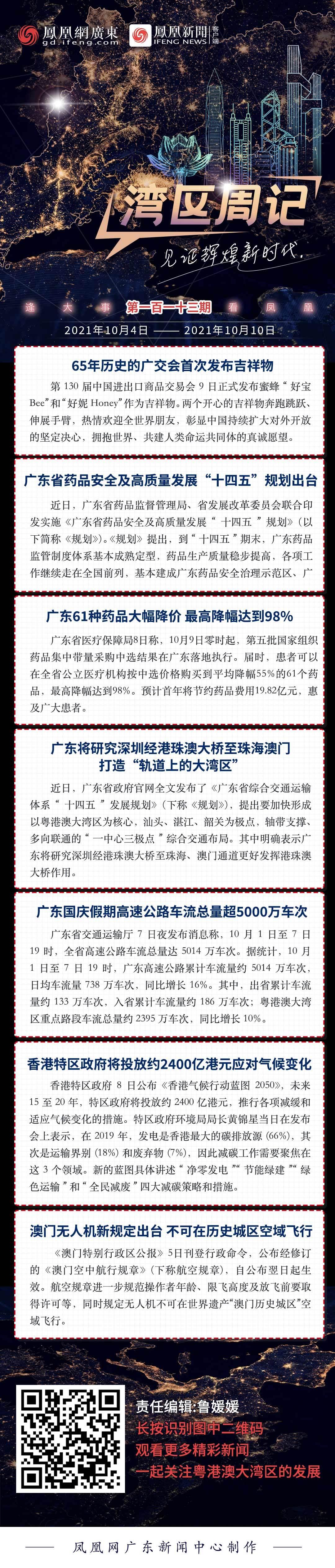 """湾区周记No.113丨广东省药品安全及高质量发展""""十四五""""规划出台"""